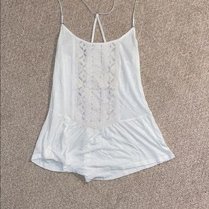 American Eagle off white tank top, size XS.